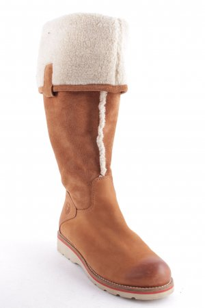 Marc O'Polo Stiefel hellbraun Casual-Look