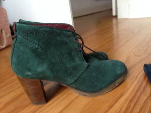 Marc O'Polo Lace-up Booties petrol-forest green