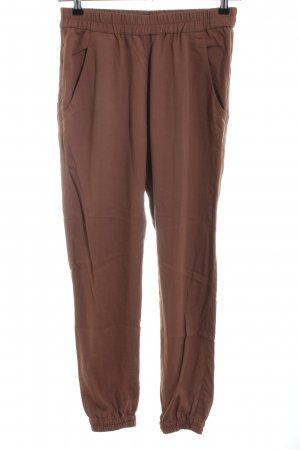Marc O'Polo Stoffhose braun Casual-Look