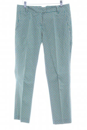 Marc O'Polo Stoffhose abstraktes Muster Casual-Look
