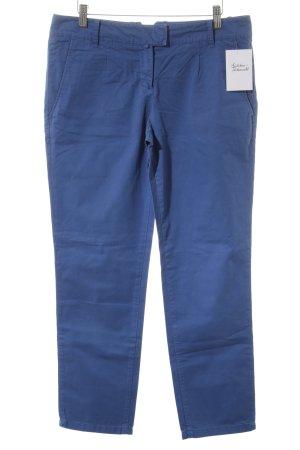 Marc O'Polo Stoffhose blau Casual-Look