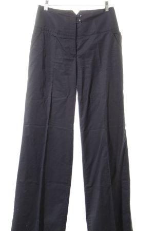 Marc O'Polo Stoffhose graublau-dunkelgrau schlichter Stil