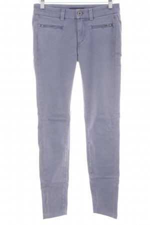 Marc O'Polo Stoffhose grauviolett Casual-Look