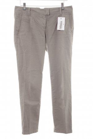 Marc O'Polo Stoffhose hellgrau Casual-Look