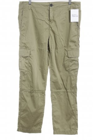 Marc O'Polo Jersey Pants khaki simple style