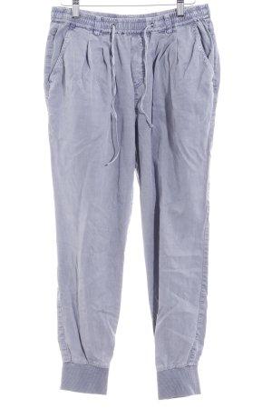 Marc O'Polo Stoffhose kornblumenblau-graublau Casual-Look