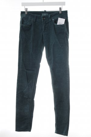 Marc O'Polo Stoffhose petrol Casual-Look