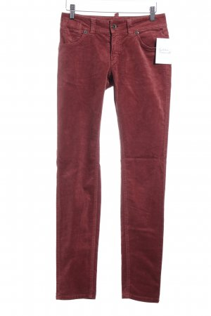 Marc O'Polo Stoffhose rostrot Casual-Look
