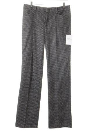 Marc O'Polo Stoffen broek zwart-olijfgroen zakelijke stijl
