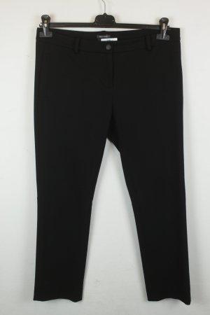 Marc O'Polo Stoffhose Straight Leg Gr. 40 schwarz