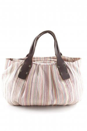 Marc O'Polo Canvas Bag striped pattern casual look