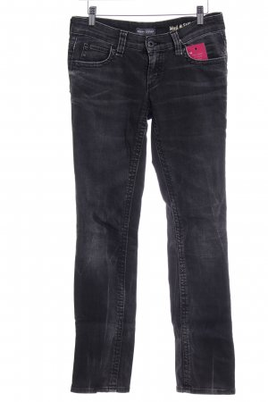 Marc O'Polo Straight-Leg Jeans anthrazit-hellgrau Casual-Look