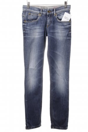 Marc O'Polo Straight-Leg Jeans blau Casual-Look