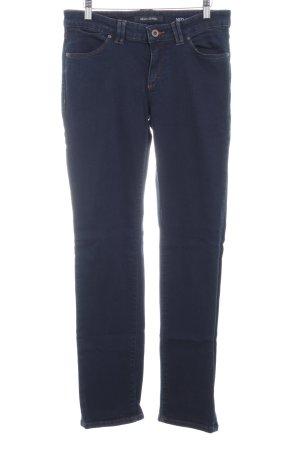 Marc O'Polo Straight-Leg Jeans dunkelblau Casual-Look