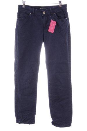 Marc O'Polo Straight-Leg Jeans dunkelblau schlichter Stil