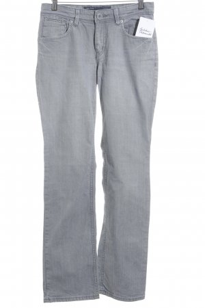 Marc O'Polo Straight-Leg Jeans grau Street-Fashion-Look