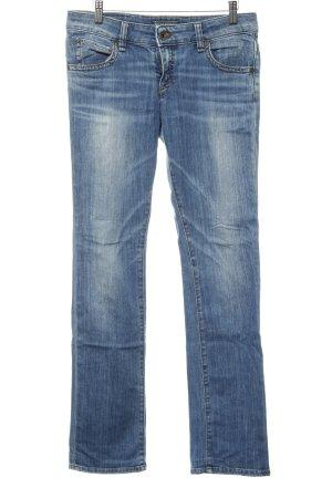 Marc O'Polo Straight-Leg Jeans hellblau Jeans-Optik