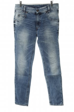 Marc O'Polo Straight-Leg Jeans kornblumenblau Casual-Look
