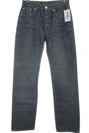 Marc O'Polo Straight-Leg Jeans stahlblau Casual-Look