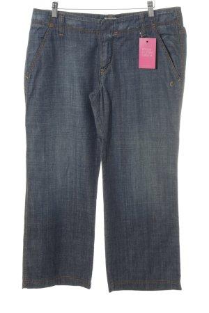 Marc O'Polo Straight-Leg Jeans stahlblau Casual-Look