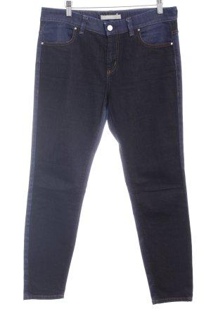 Marc O'Polo Straight-Leg Jeans taupe-dunkelblau schlichter Stil