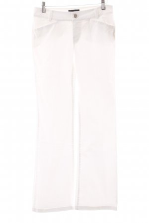 Marc O'Polo Straight-Leg Jeans weiß Casual-Look