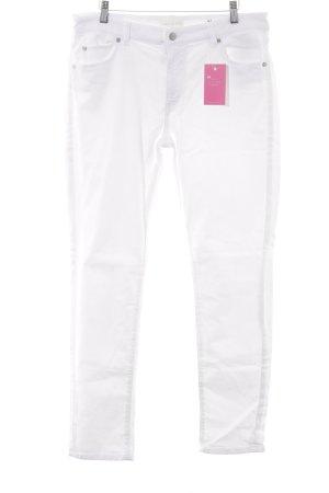 Marc O'Polo Straight-Leg Jeans weiß schlichter Stil