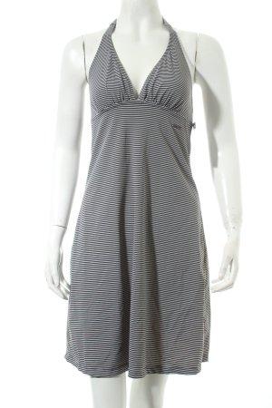 Marc O'Polo Strandkleid weiß-schwarz Streifenmuster Beach-Look