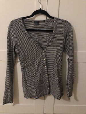 Marc O'Polo Camisa de rayas negro-blanco