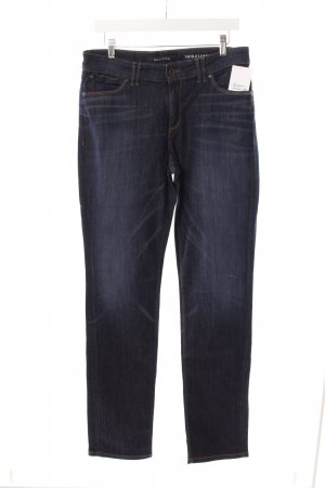 Marc O'Polo Stretch Jeans dunkelblau Washed-Optik
