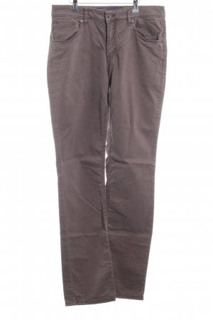 Marc O'Polo Stretchhose graubraun Casual-Look