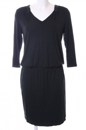 Marc O'Polo Stretch jurk zwart casual uitstraling