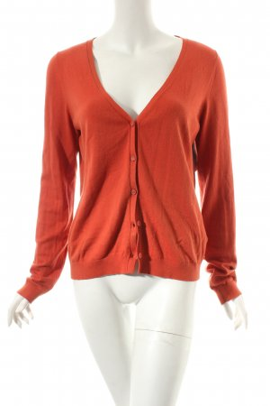 Marc O'Polo Strick Cardigan dunkelorange Casual-Look