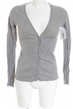 Marc O'Polo Strick Cardigan grau Casual-Look