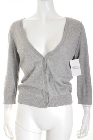 Marc O'Polo Knitted Cardigan light grey flecked fluffy