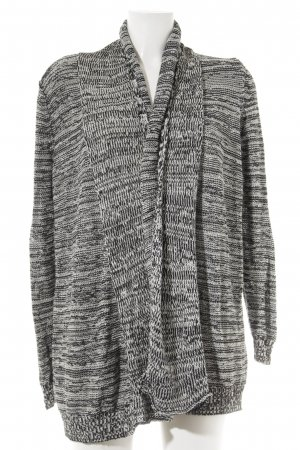 Marc O'Polo Strick Cardigan schwarz-weiß Casual-Look