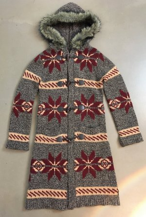 Marc O'Polo Knitted Coat multicolored wool
