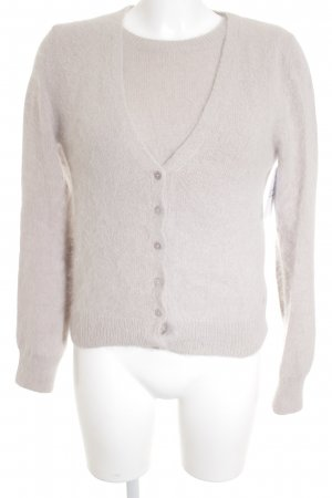 Marc O'Polo Knitted Twin Set dusky pink fluffy