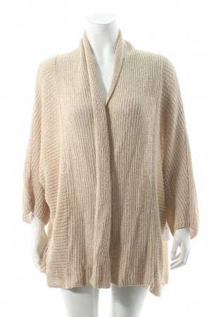 Marc O'Polo Strickjacke beige Kuschel-Optik