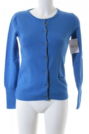 Marc O'Polo Strickjacke blau Casual-Look