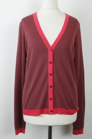 Marc O'Polo Strickjacke Cardigan Gr. S rot