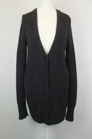 Marc O'Polo Strickjacke Cardigan Gr. XS anthrazit lang