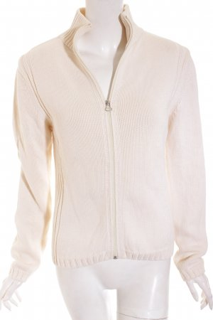 Marc O'Polo Strickjacke creme Kuschel-Optik