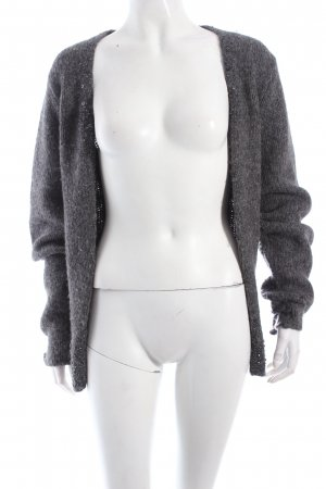 Marc O'Polo Strickjacke grau Casual-Look