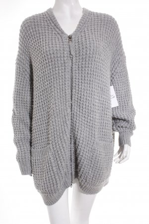 Marc O'Polo Strickjacke grau Street-Fashion-Look