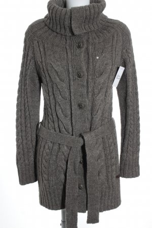 Marc O'Polo Strickjacke graubraun Casual-Look