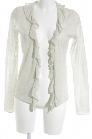 Marc O'Polo Strickjacke hellbeige meliert Casual-Look
