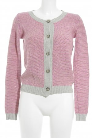 Marc O'Polo Strickjacke mehrfarbig Logo-Applikation