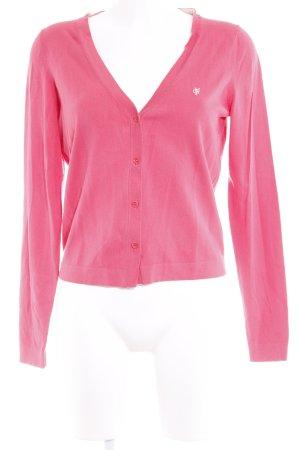 Marc O'Polo Strickjacke pink Casual-Look