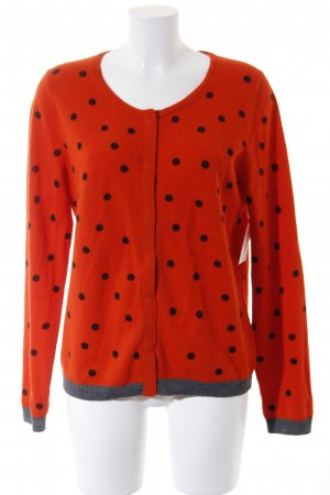 Marc O'Polo Strickjacke Punktemuster Street-Fashion-Look
